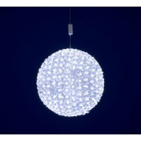 Boule flashlight leds fleurs
