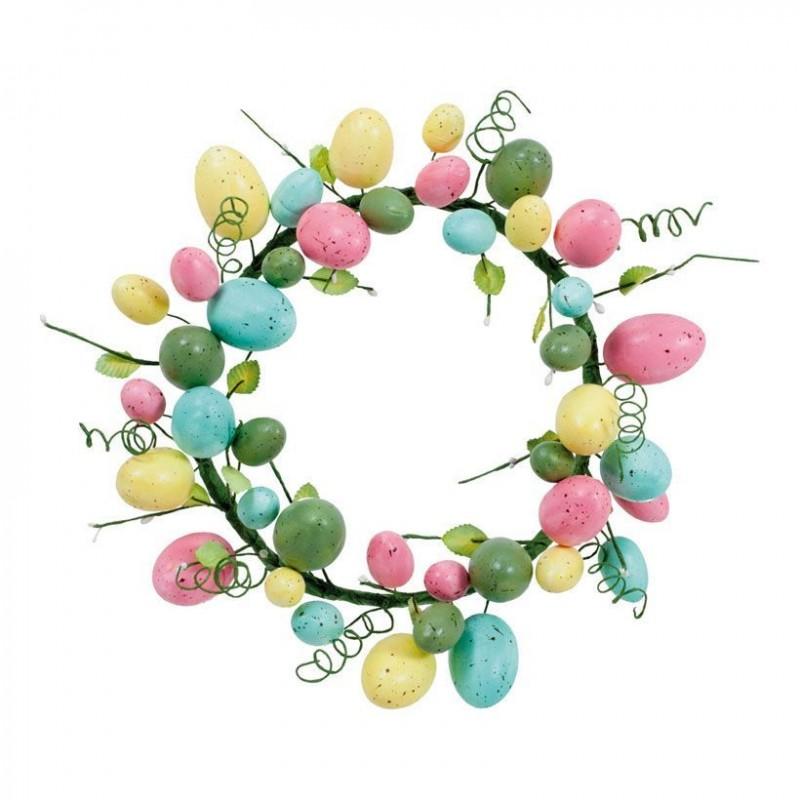 couronne oeufs de Pâques