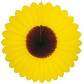 Fleur éventail à suspendre