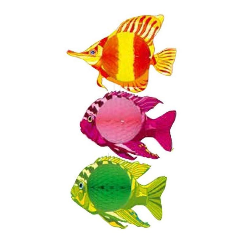 poisson exotique papier