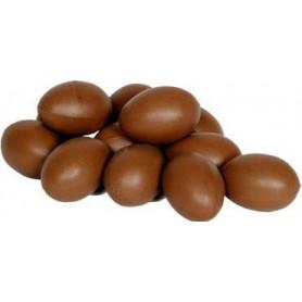 Petits oeufs plastique chocolat