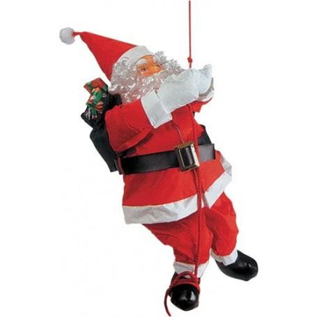 Père-Noël sur corde