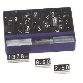 Caissette de chiffres