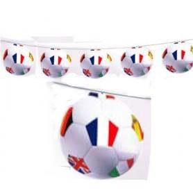 Guirlande ballons Coupe du Monde 2018