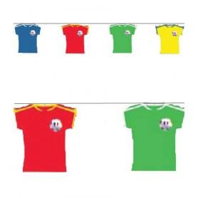 Guirlande maillots Coupe du Monde 2018