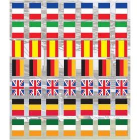 Guirlande drapeau pays