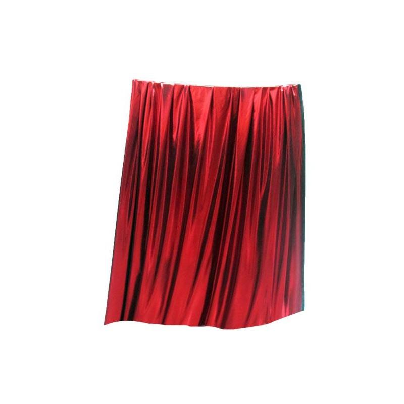 Tissu rouge brillant