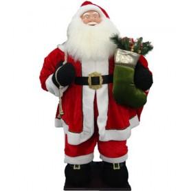 Père-Noël gonflable géant