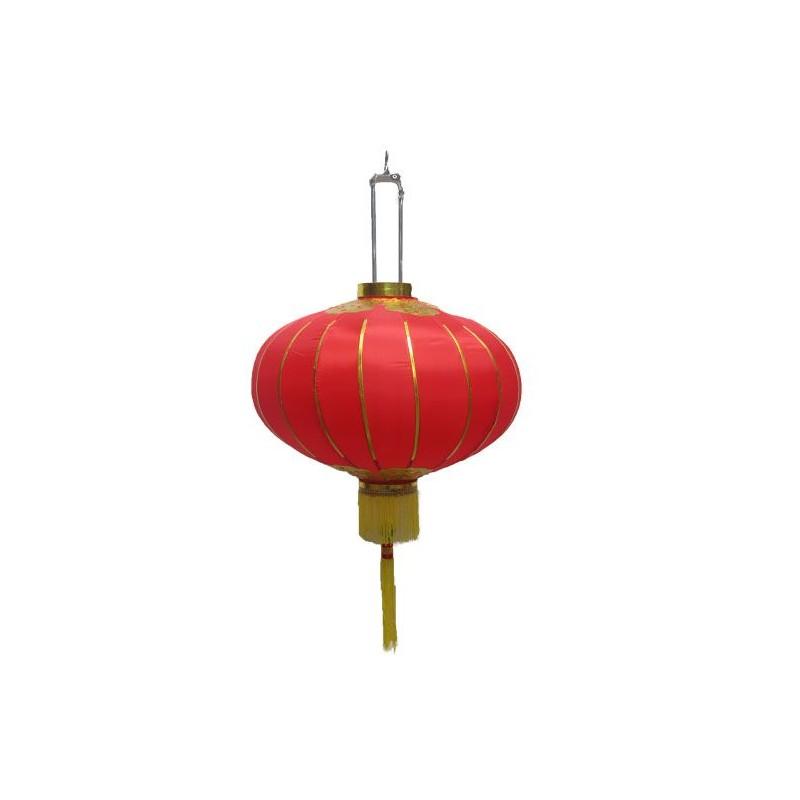Lampion chinois tissu