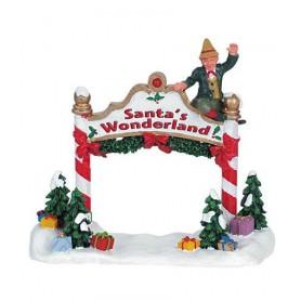 Bienvenue au Pays du Père-Noël