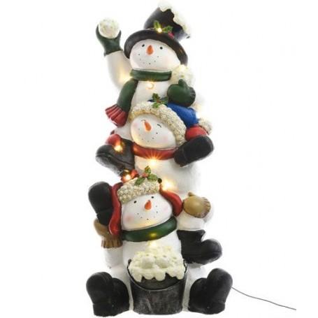 Colonne bonhomme de neige