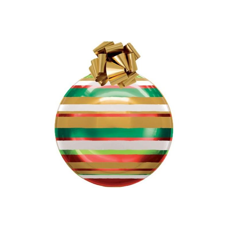 Boule géante Noël