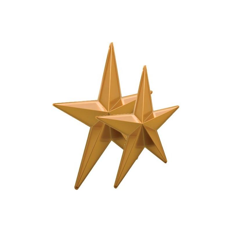 Lot 2 étoiles or géantes