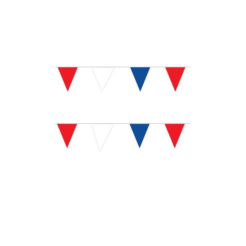 Guirlande tricolore PVC