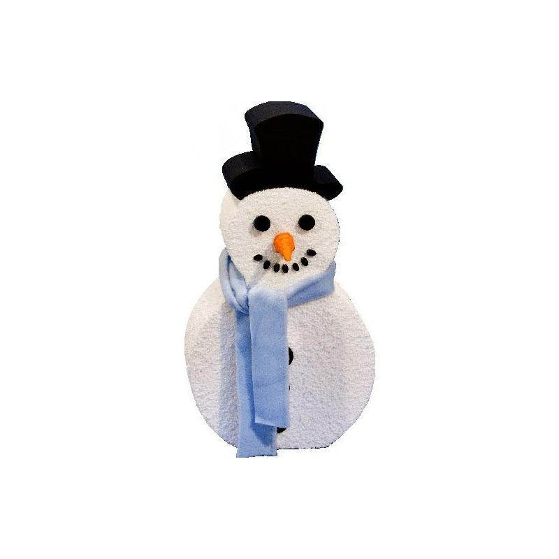 Bonhomme de neige polystyrène