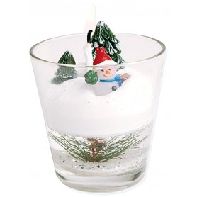 VERRINE BOUGIE DE NOEL
