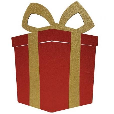 Paquet cadeau plat