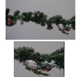Guirlande sapin décorée