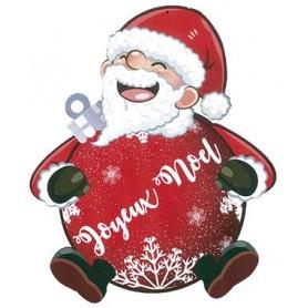 Père-Noël plat