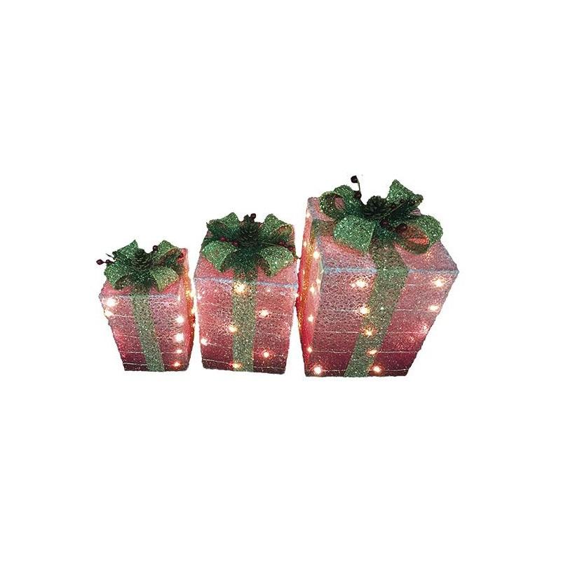Paquets cadeaux lumineux