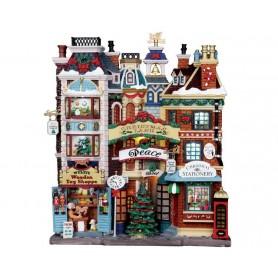 Façade boutique de Noël