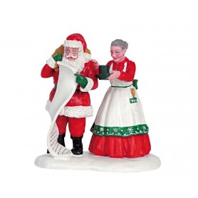 LA GRANDE LETTRE DU PERE NOEL COLLECTION LEMAX