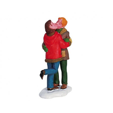 COUPLE QUI S'EMBRASSE COLLECTION LEMAX