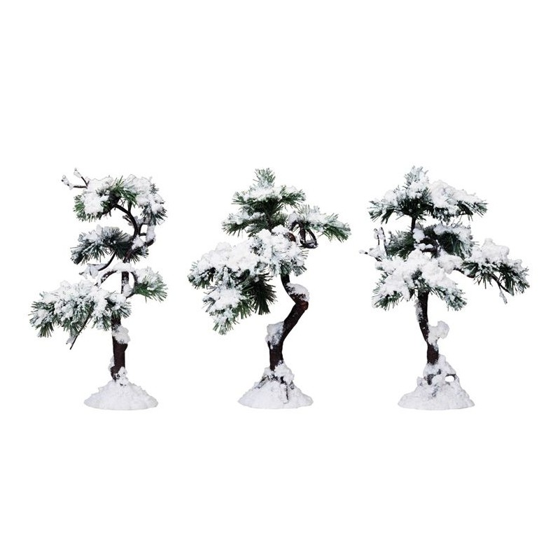 ASSORTIMENT DE 3 ARBRES COLLECTION LEMAX