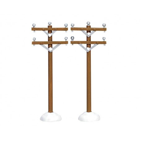 Poteaux télégraphique Lemax
