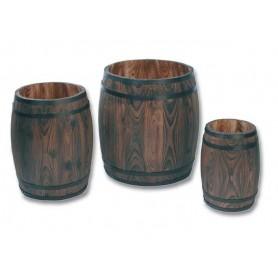 Trio de barriques bois