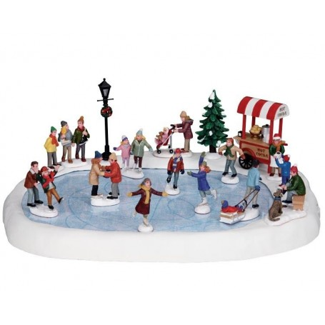 ETANG DE PATINAGE ANIME