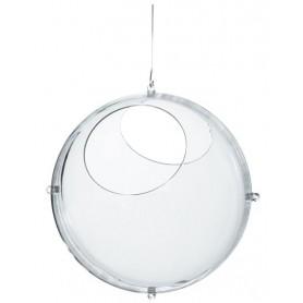 Boule transparente à suspendre