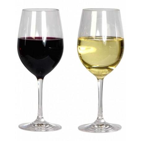 Verres de vins géants