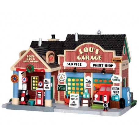 Lou's garage automobile
