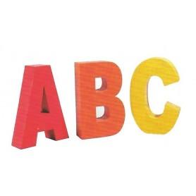 Lettres géantes A,B,C