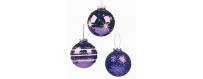 Boules de noel pour décoration de sapin - Mediacible Promotion