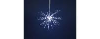 Boules, étoiles et motifs lumineux - Iluminations de Noë