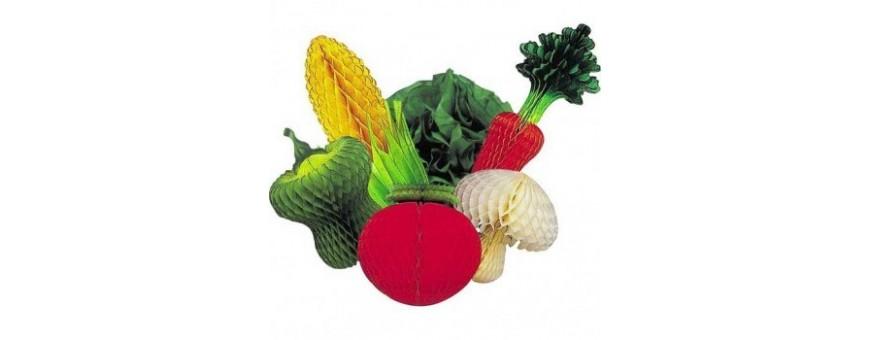 Fruits et légumes géants