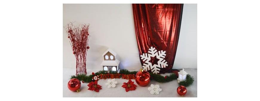 Décorations de noël pour vitrines et magasin