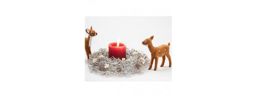 Personnages de noël - Animaux décors Noël